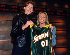 Lauren Jackson, No. 1 pick in the WNBA Draft