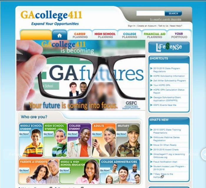 GAcollege411