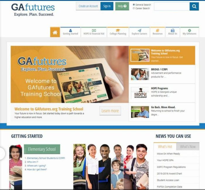 GAfutures - 2015 edition