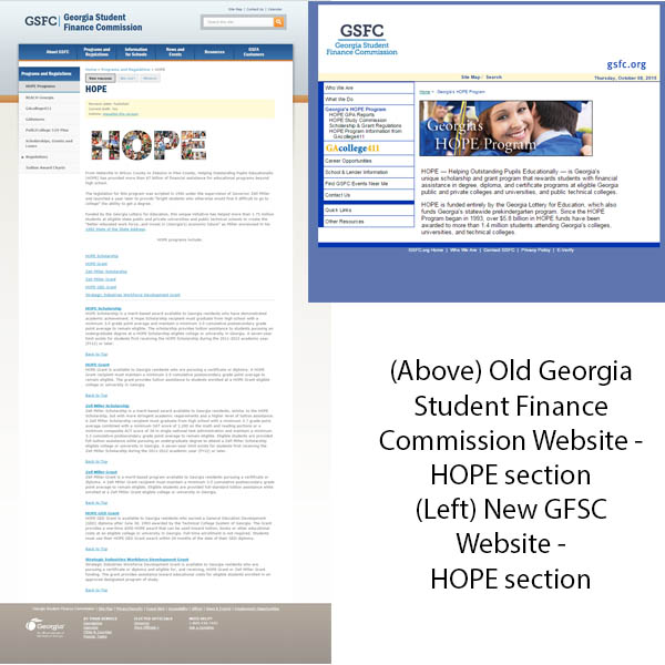 Georgia Student Finance Commission - HOPE Program