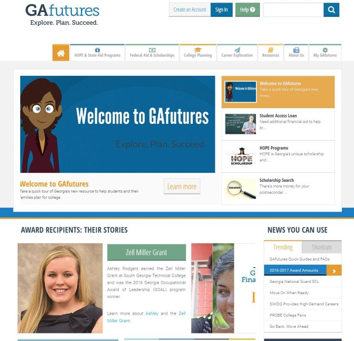 GAfutues Home Page